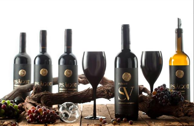 Бутылки вина psagot