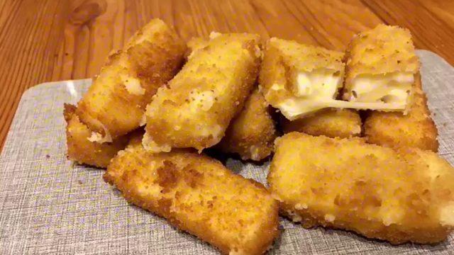 Сыр в хрустящем кляре