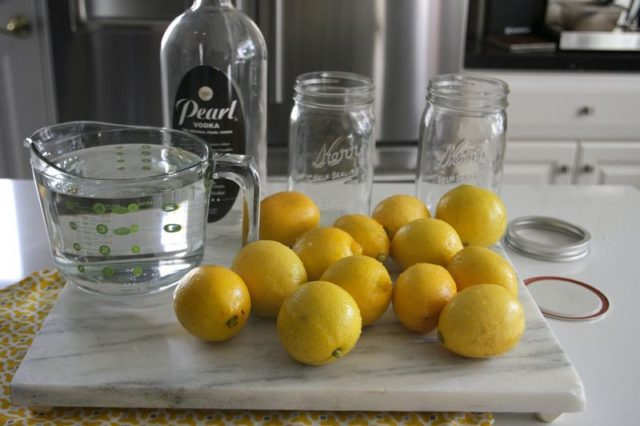 лимоны самогон