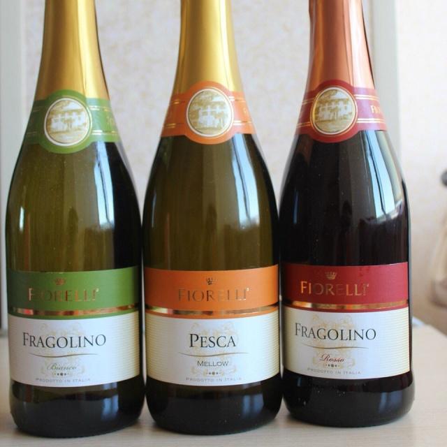 Бутылки шампанского fiorelli