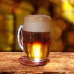 бокал резаного пива