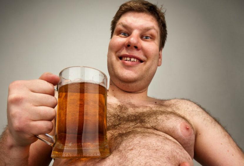Употребление пива при лишнем весе