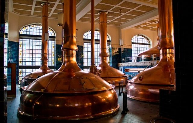 пивоварня изнутри