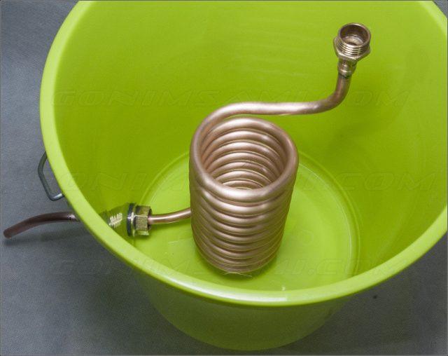 Как самостоятельно сделать змеевик для самогонного аппарата